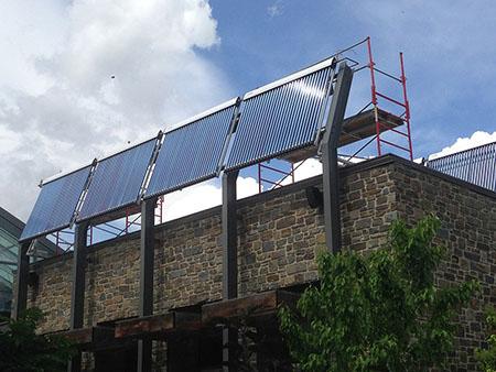 Calgary Zoo Solar Thermal