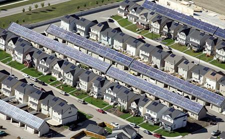 Drake Landing Solar Community, Okotoks, Alberta