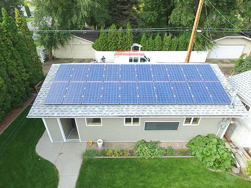 Saskatoon, SK residential solar panel system - 5kW