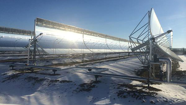 Medicine Hat Solar Thermal Plant