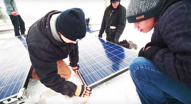 Beaver Lake Cree First Nation Solar