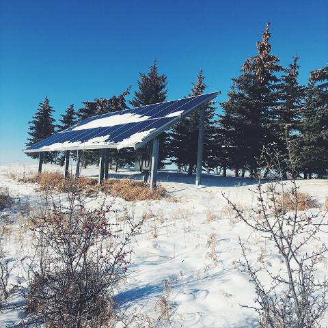 Blue Heron EcoHaus Solar Power