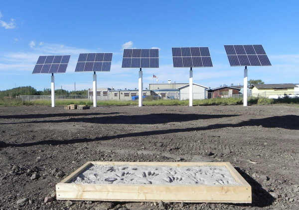 Lubicon Cree First Nation Solar Power