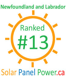 Newfoundland and Labrador Solar Power