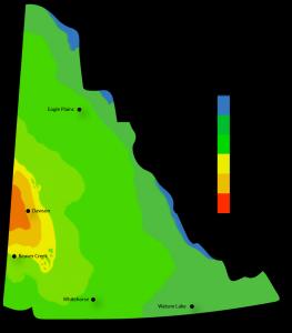 Solar Power Map Yukon Territories