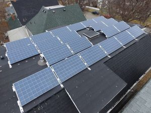 Roof Mounted Solar Array