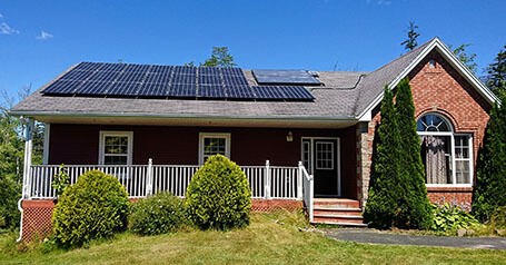 Solar Power Nova Scotia - House